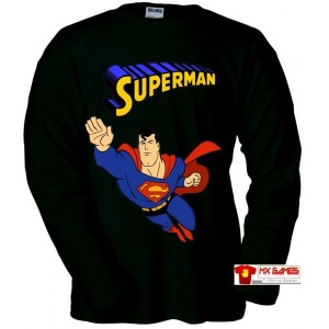 camiseta-superman-retrogame-negra